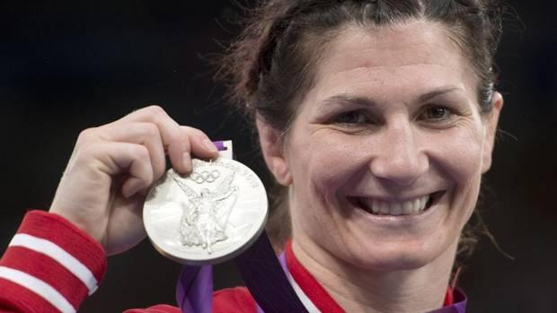 SILVER - Tonya Verbeek, 55-kg freestyle wrestling