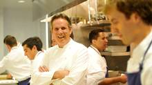 'Cooking is a process,' Thomas Keller says. His new Ad Hoc at Home is not a quick mealtime solution cookbook, he adds: 'Each thing is a process and we didn't compromise the process  of the cooking for time.' (Toby Canham/Getty Images)