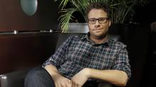 Actor Seth Rogen at the Intercontinental Hotel during TIFF 2011, Toronto September 10, 2011 (Fernando Morales/The Globe and Mail)