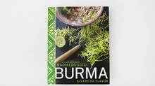 Detail of the cover of Burma, Rivers of Flavor, a cookbook by Naomi Duguid. (Deborah Baic/The Globe and Mail)