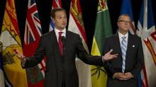 Prince Edward Island Premier Robert Ghiz. (PETER POWER/THE GLOBE AND MAIL)