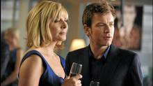 Kim Cattrall and Ewan McGregor star in The Ghost Writer. (Photo:)