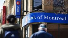The Bank of Montreal at Roxton and Dundas in Toronto, On (DELLA ROLLI FOR THE GLOBE AND MA)