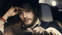 Writer/director Steven Knight says of Locke actor Tom Hardy's onscreen intensity: 'When he's onscreen with others, everybody's looking at him anyway.' (Everett Collection)