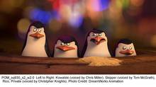 Kowalski, Skipper, Rico and Private star in this Madagascar movie entirely about penguins. (DreamWorks Animation)