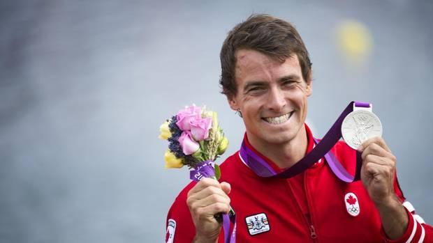 SILVER - Adam van Koeverden, K1 1000m kayak