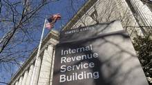 The exterior of the Internal Revenue Service building in Washington. (Susan Walsh/Associated Press)