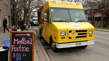 The recent Sew Hungry festival in Hamilton drew a wide variety of food trucks – with menus that are anything but boring. Ever tried ossobuco gnocchi poutine? (Janice Pinto/The Globe and Mail)