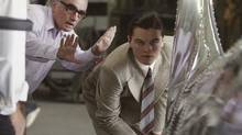 "Martin Scorsese directs actor Leonardo DiCapriofor a scene in ""The Aviator."" (MIRAMAX FILMS)"