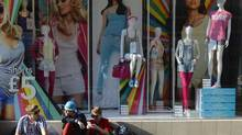 A Primark clothing shop in central London on April 25, 2013. U.K. clothing retailer Primark, which has 257 stores across Europe and is a unit of Associated British Foods, confirmed that one of its suppliers occupied the second floor of a building that collapsed in Bangladesh killing at least 228 people. (Paul Hackett/Reuters)