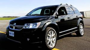 The Dodge Journey won Best New SUV under $35,000 in the Automobile Journalists Association of Canada's TestFest 2012 Canadian Car of the Year Awards in Niagara-on-the-Lake on Friday, October 28, 2011.