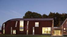 "Levitt Goodman Architects' Scarborough Child and Family Life Centre for Native Child and Family Services of Toronto. 'We wanted something that felt really special to the community,"" says architect Dean Goodman, 'that's why it doesn't look like a regular building.' (Ben Rahn/A-Frame/Levitt Goodman Architects)"