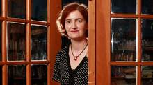Emma Donoghue in London (the one without crowds and traffic). (The Globe and Mail)