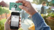 Square's technology is shown in this image taken from the company's website. (Screen grab)