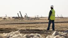The Tasiast mine is an open pit operation located in north-western Mauritania. (Handout)