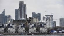 Toronto's skyline is seen from the waterfront near Ontario Place. (Fred Lum/Fred Lum/The Globe and Mail)