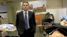 Dr. Chris Mazza, former CEO of Ornge, a company that provides emergency helicopter service in Ontario, at the training room of the company's headquarters in Toronto on Oct. 27, 2008. (Fernando Morales/The Globe and Mail/Fernando Morales/The Globe and Mail)