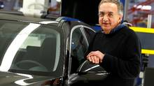 Fiat Chrysler CEO Sergio Marchionne warned in June that a Trump victory could affect the car maker's production options in North America. (TONY GENTILE/REUTERS)