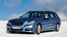 2011 Mercedes-Benz E-Class 4MATIC wagon (Michael Bettencourt for The Globe and Mail)