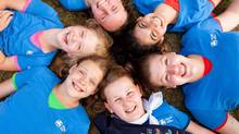 Sparks, Brownies, Guides, Pathfinders and Rangers will all wear the same distinctive Girl Guide blue-uniform T-shirt. (GIRL GUIDES OF CANADA)