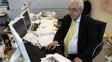 File photo: Hedge fund manager Otto Spork, poses for a portrait at his office on Bay St. in Toronto on November 26, 2007. (Fernando Morales/The Globe and Mail)