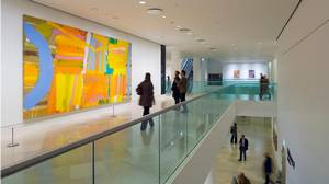 The Kings Place arts centre has a contemporary art gallery as well as performance spaces.