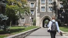 Students who move at least 40 kilometres to a school – say, to the University of Toronto – can claim the expense in their taxes. (Jennifer Roberts for The Globe and Mail)