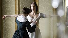 Victoria (Emily Blunt) is surrounded by schemers, but she holds on to the power as well as the crown.