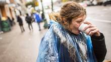 Rosemarie Brill in Vancouver's DTES October 13, 2016 after the Vancouver Coastal Health expands women's services in the Downtown Eastside. (John Lehmann/The Globe and Mail)