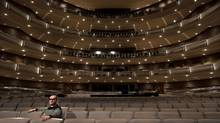 Dmitri Tcherniakov, Canadian Opera Company director, poses in the Four Seasons Centre in Toronto on Thursday, January 15, 2015. Darren Calabrese for The Globe and Mail (Darren Calabrese)