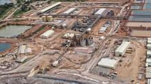 Anvil's Kinsevere copper mine in the Democratic Republic of Congo. (Handout)
