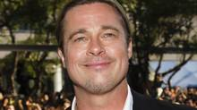 Oh, yes – it's good to be Brad Pitt. (Mark Blinch/Reuters)