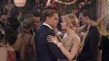 Leonardo DiCaprio and Carey Mulligan in a scene from the latest film version of The Great Gatsby. (WARNER BROS. PICTURES/NYT)