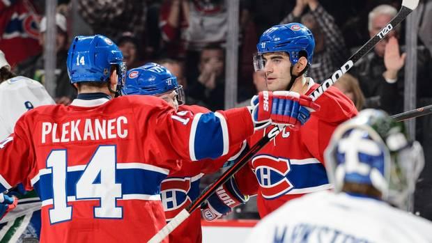 Desharnais Stars In Overtime As Canadiens Beat Canucks 4-3