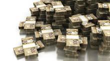 A stack of Canadian $100 Dollar bills (selensergen/Getty Images/iStockphoto)