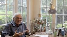 Maurice Sendak in his home in Connecticutt in 2011 (Mary Altaffer/AP)