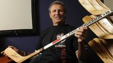 Canadian hockey icon Paul Henderson is photographed March 12 2012 during an interview at Ficel Marketing Corp. in Mississauga, Ont. (Fred Lum/The Globe and Mail)