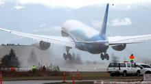 The Boeing Dreamliner takes off on its first flight (Cliff Despeaux)