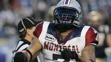 Montreal Alouettes' defensive end John Bowman (The Canadian Press)