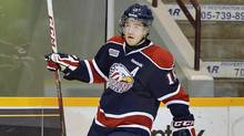 Saginaw Spirit's Eric Locke is seen in this file photo. (Terry Wilson/OHL Images)