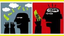 Illustration about money (Ekaterina Panova/Ekaterina Panova)