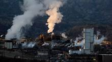 Teck Metals Ltd. has already paid sizable fines for environmental pollution in the past five years. (DARRYL DYCK/The Canadian Press)