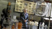 President of Sanofi Pasteur Canada in one of the small museums housed on the company's Downsview campus (Peter Power/The Globe and Mail/Peter Power/The Globe and Mail)