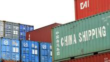 Shipping containers stacked in the Port of Haliax, june 2011. (Roger Hallett/The Globe and Mail)