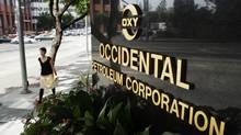 Occidental Petroleum building in Los Angeles (Kevork Djansezian)