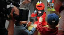 A shortage of supplies of the Let's Rock Elmo could result in a lot of unhappy children on Chiristmas Day. (ASTRID STAWIARZ/GETTY IMAGES/ASTRID STAWIARZ/GETTY IMAGES)