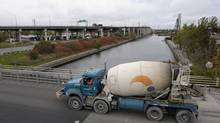 A cement truck. (Fred Lum/The Globe and Mail)