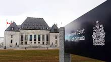 The Supreme Court of Canada in Ottawa is shown on Tuesday, April 14, 2015. (Sean Kilpatrick/THE CANADIAN PRESS)