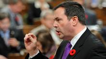Immigration Minister Jason Kenney speaks during Question Period in the House of Commons on Nov. 3, 2011. (Sean Kilpatrick/THE CANADIAN PRESS)