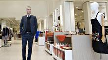 Peter Simons plans to expand his Quebec-based retailer to other cities besides Edmonton but knows it's a slow, deliberate process. (JASON FRANSON for The Globe and Mail)